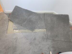 Carpet patch progress