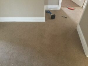 Carpet patch after