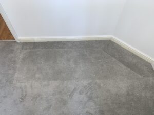 Carpet patch after