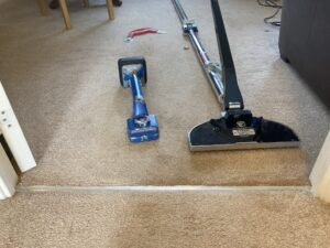 Carpet repair & stretch tools