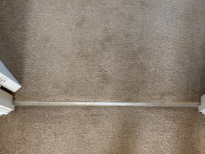Carpet repair & stretch after