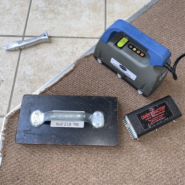 Carpet repairs gallery Oxfordshire